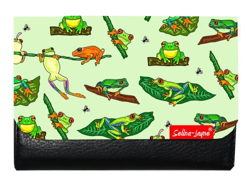Selina-Jayne Frogs Limited Edition Designer Small Purse
